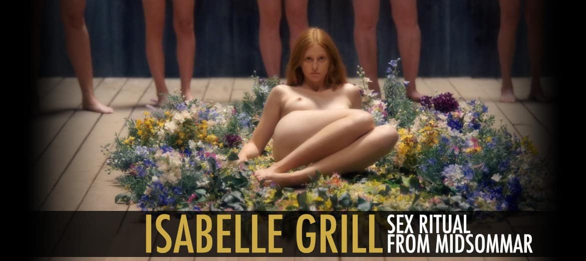 isabelle Grill Sex Ritual Midsommar